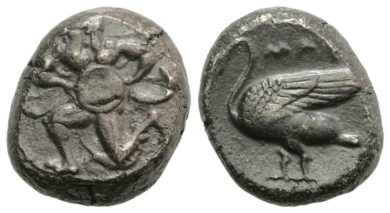 Cilicia, Mallos. Ca. 440-390 B.C. AR stater.